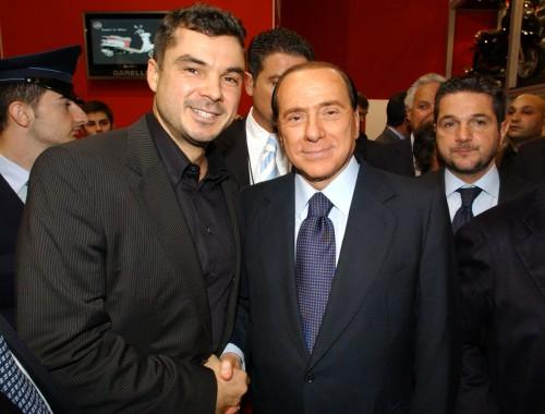 Със Силвио Берлускони