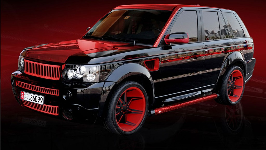 LIMITED EDITION Land Rover