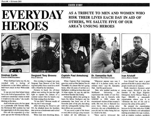 Toronto's heroes