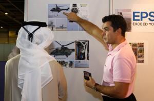 Dubai HeliShow Sheikh Mansoor