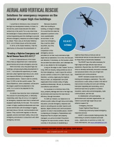 Aerial and Vertical Rescue Newsletter