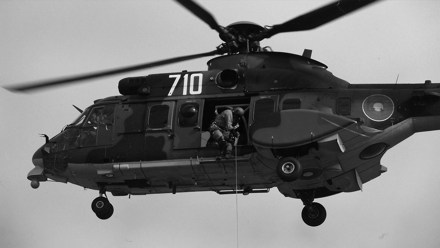 Cougar Helicopter BW