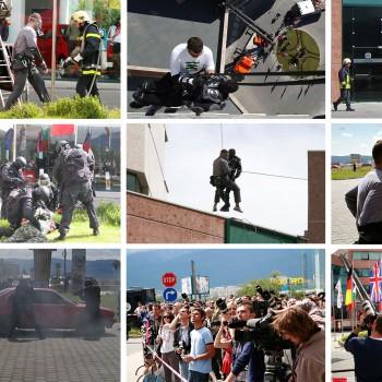 Демонстрация на тактическо спасяване на пострадали