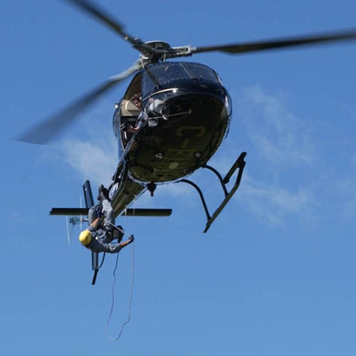 Training for Air rescue