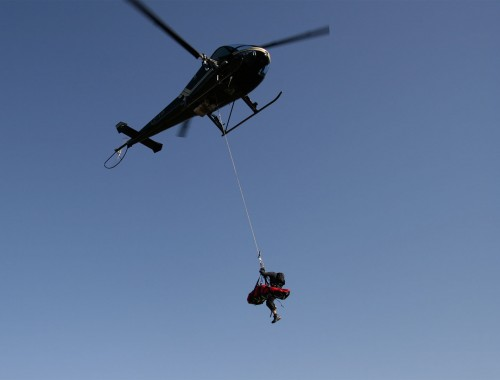 Heli Rope Rescue Just Capture It
