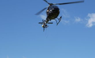 Rope Acceess form helicopter