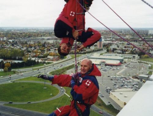 Човекът паяк тренира в Торонто