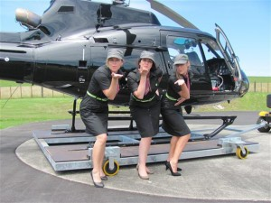 Hellicopter sexy girls