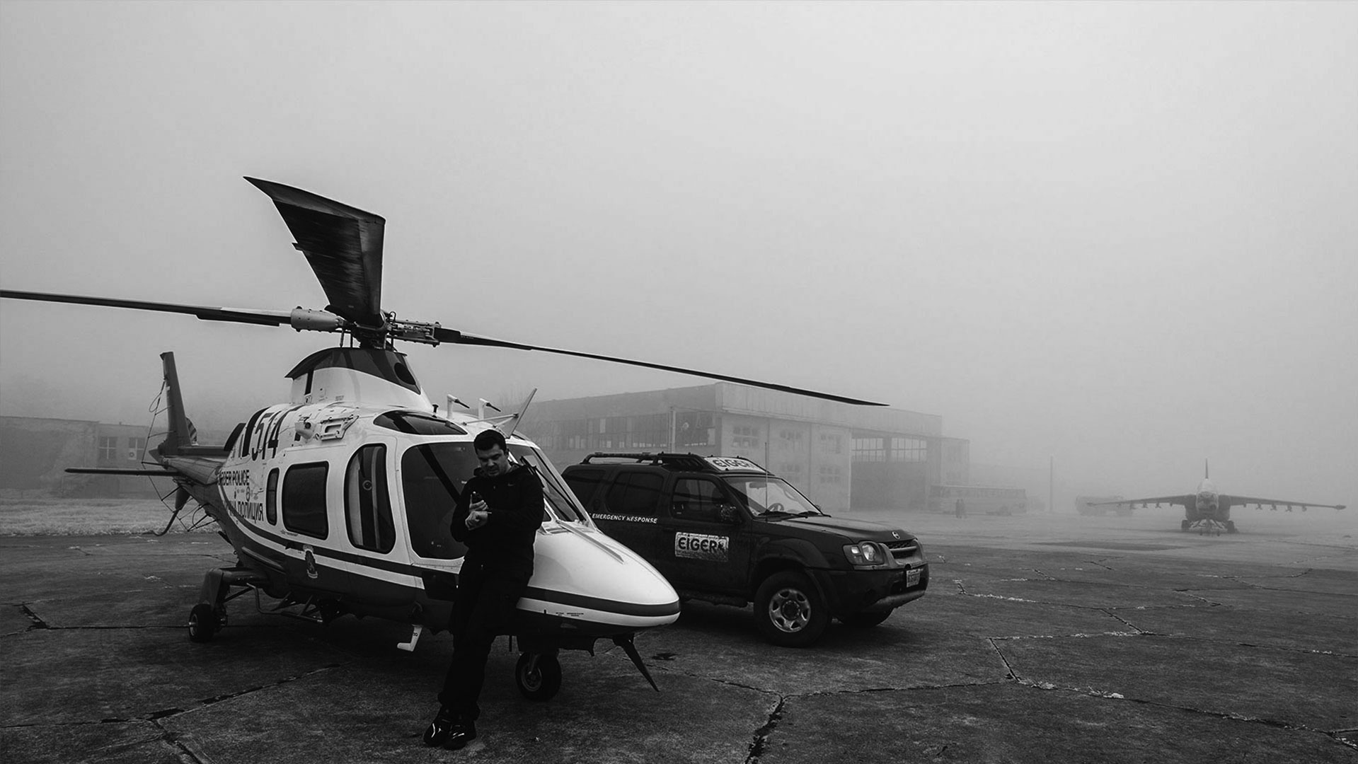 Emergency response for aerial rescue