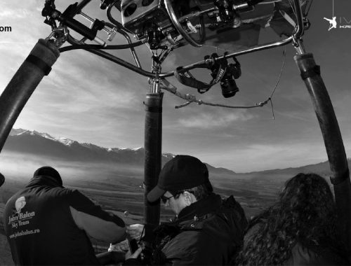 Filming from the air