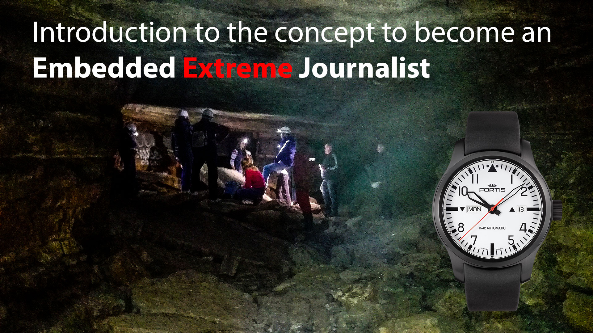 1920 WORLD'S FIRST: EMBEDDED EXTREME JOURNALISTS