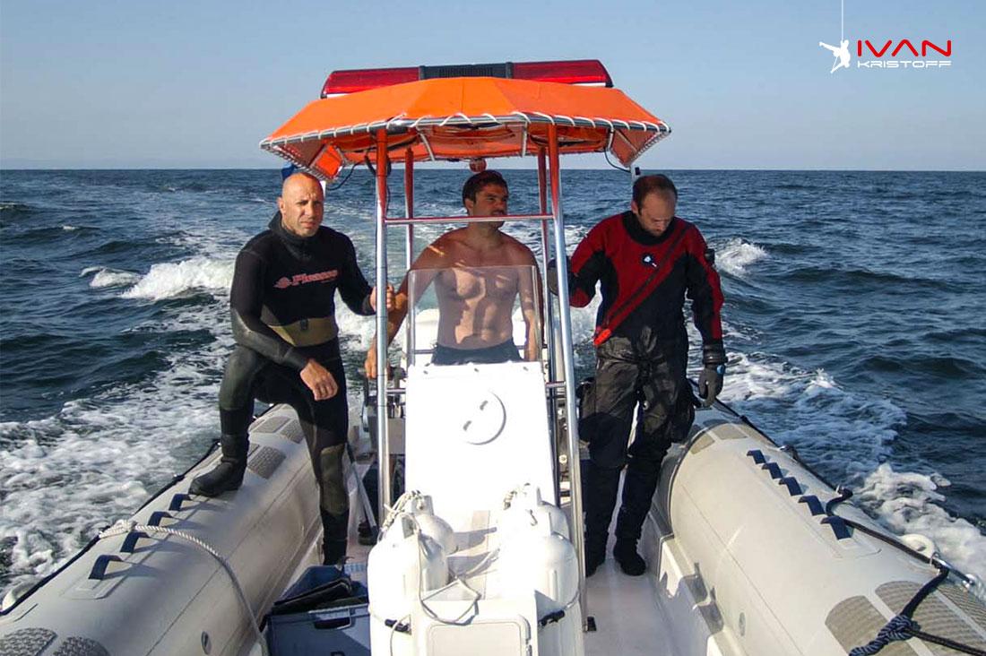Rosen Jeliazkov Water rescue