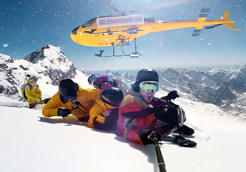 Discover Yourself Heli Ski