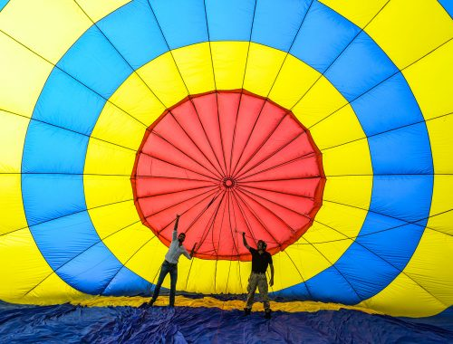 Hot Air ballonning