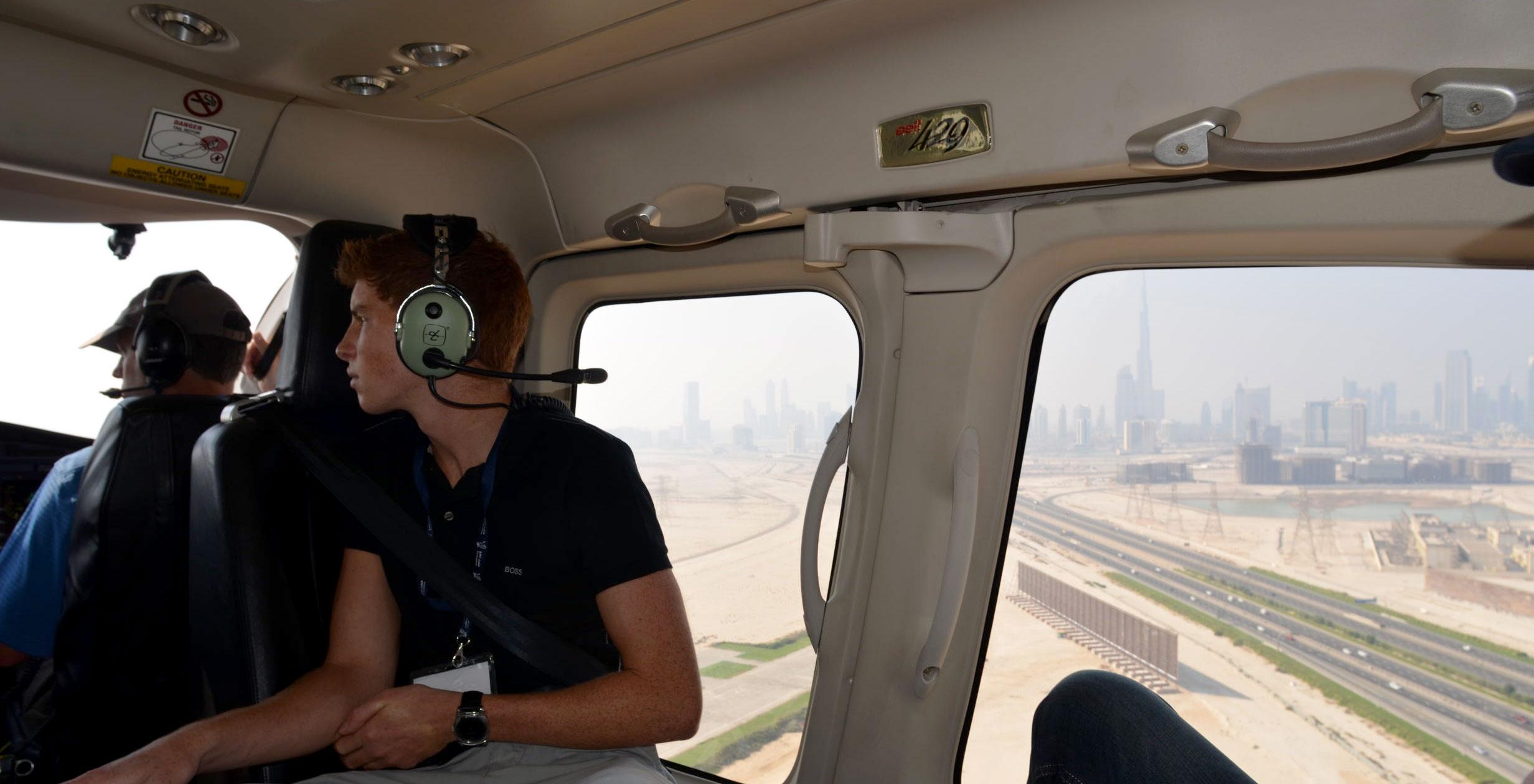 Burj Khalifa Helicopter Bell 427