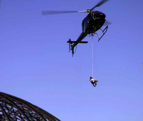 heli vertical rescue