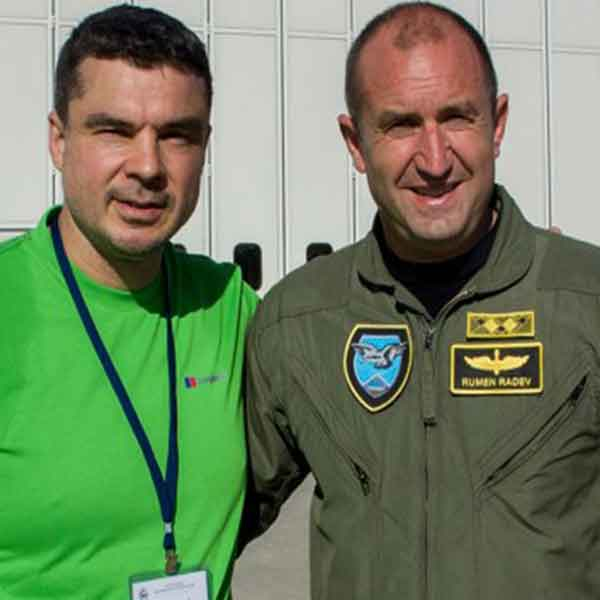 The President of Bulgaria Gen Rume Radev