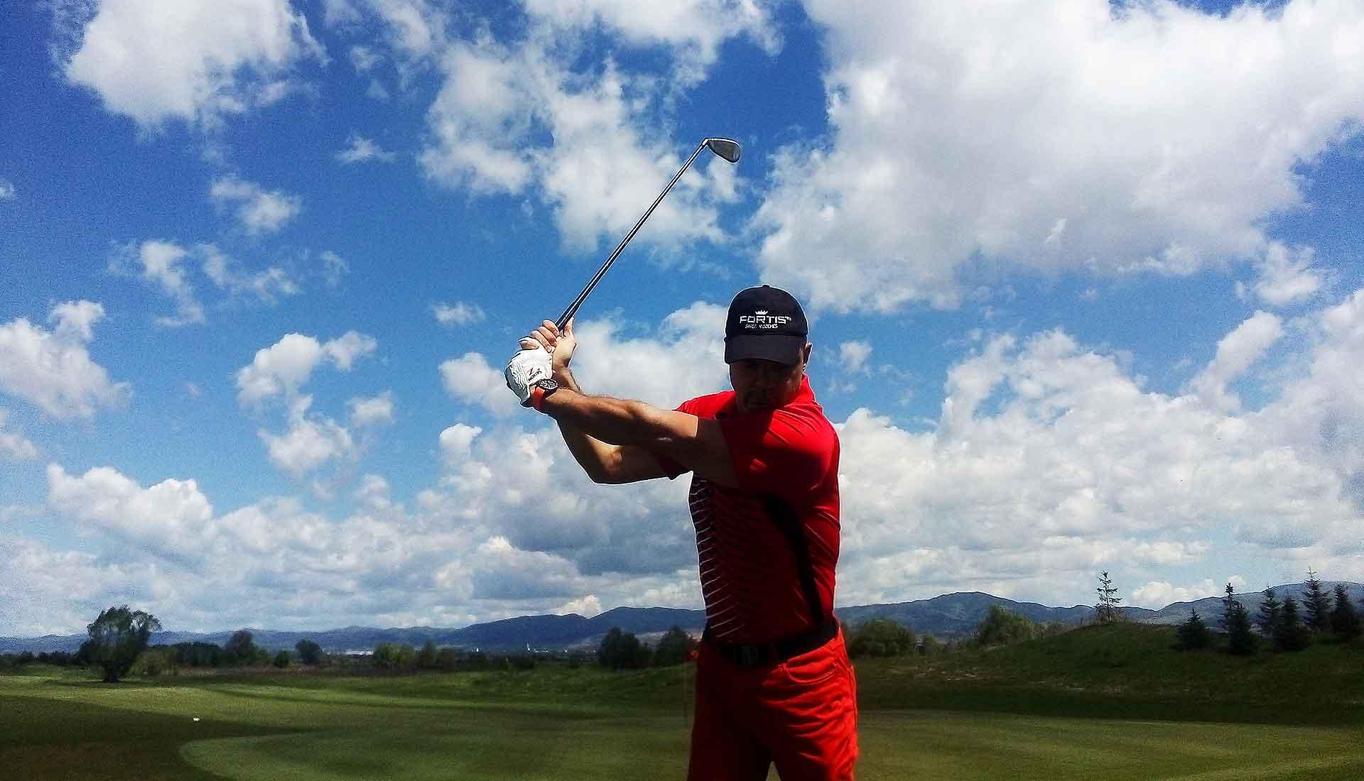 Дигитално обучение в и близо до голф игрището
