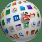 Circle YouTube Globe