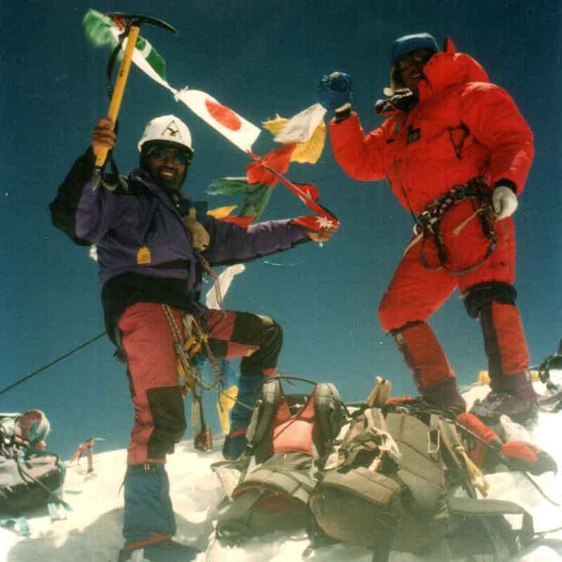 Ascent Himalayas
