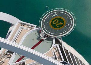 хеликоптерната площадка на Бурж Ал Араб
