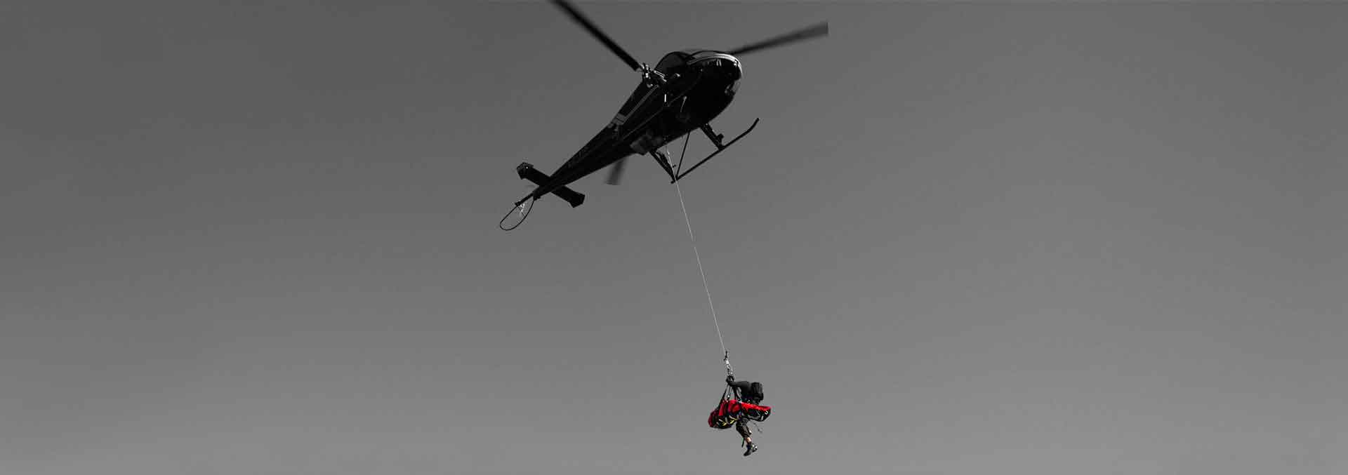 aERIAL rESCUE hELICOPTER