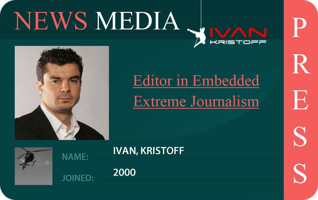 EMBEDDED EXTREME JOURNALISM