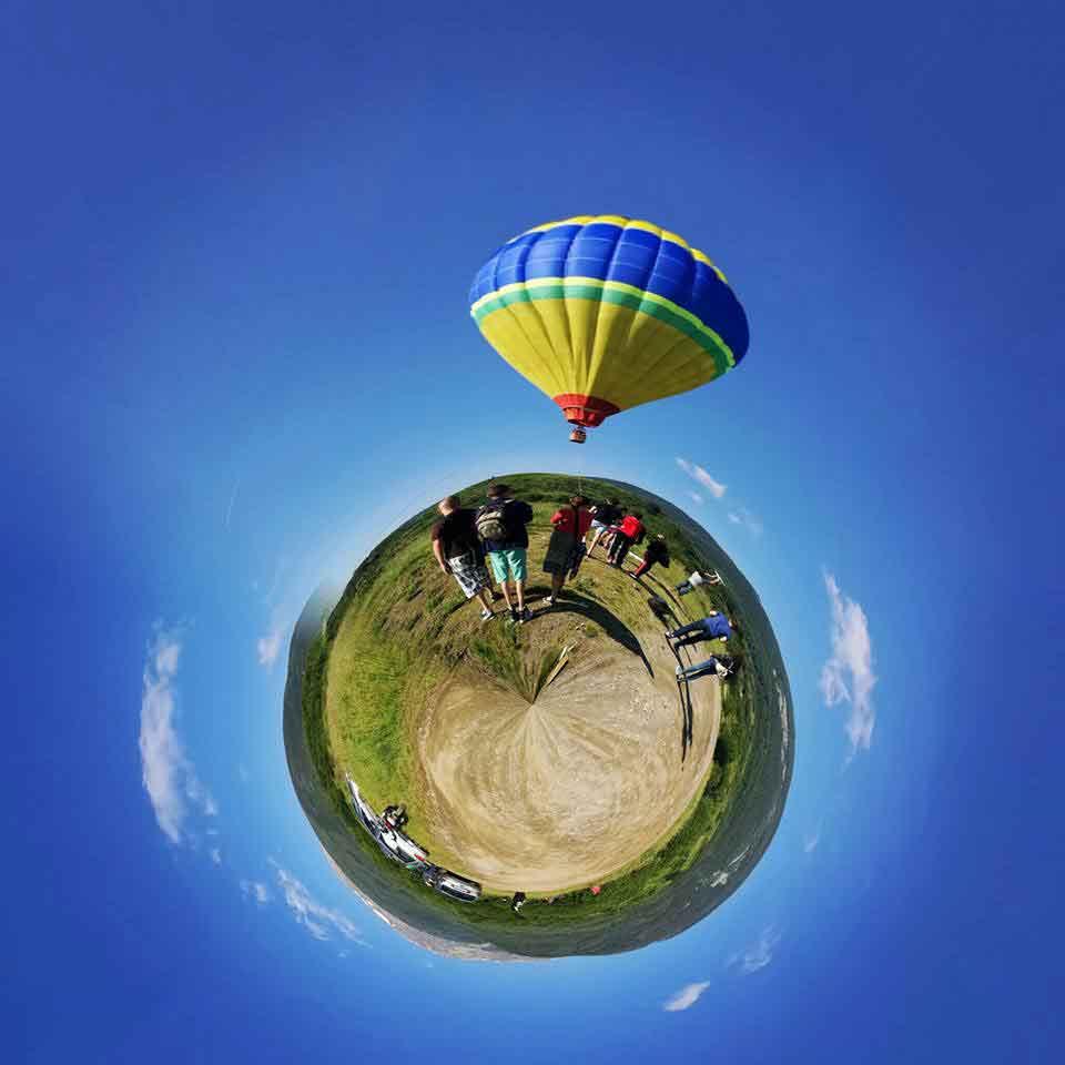 Полет с топловъздушен балон над ЮСофия и Бистрица