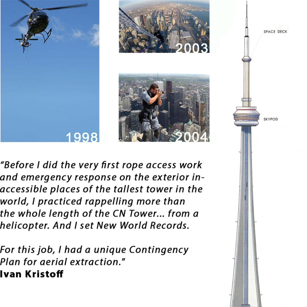 Extreme Vertical and Aerial Operations with Ivan Kristoff